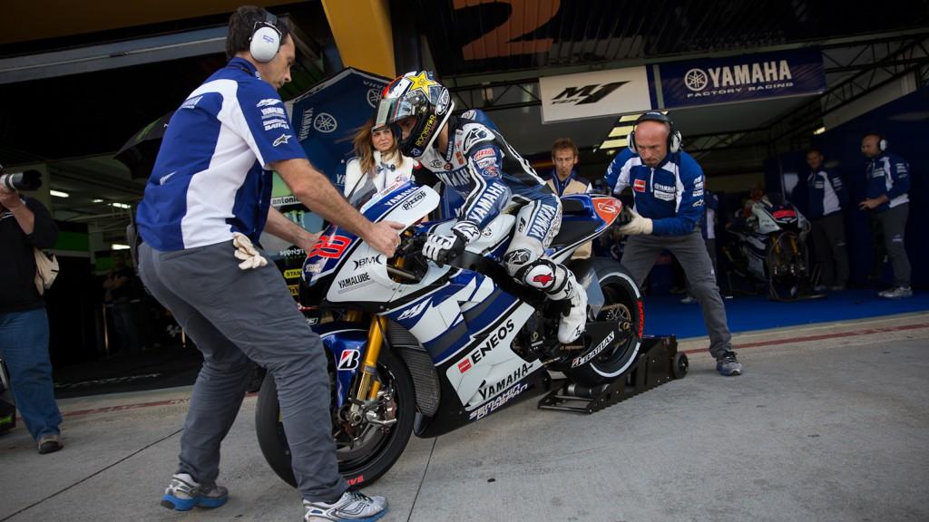 Jorge Lorenzo, Yamaha Factory Racing, Valencia QP