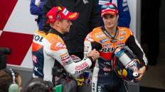 Casey Stoner, Dani Pedrosa, Repsol Honda Team, Valencia RAC
