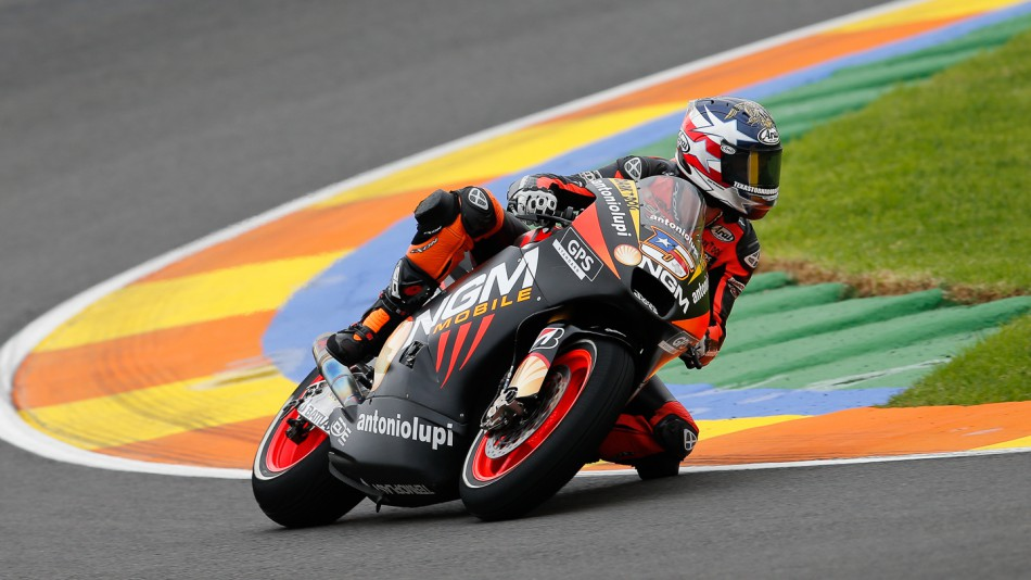 Colin Edwards, NGM Mobile Forward Racing, Valencia RAC