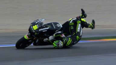 Valencia 2012 - MotoGP - RACE - Action - Cal Crutchlow - Crash