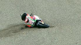 Valencia 2012 - MotoGP - RACE - Action - Nicky Hayden - Crash