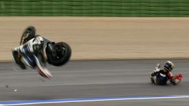Valencia 2012 - MotoGP - RACE - Action - Jorge Lorenzo - Crash