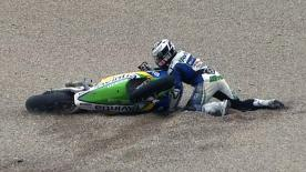 Valencia 2012 - MotoGP - RACE - Action - Ivan Silva - Crash