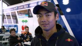 Aoyama on return to racing in MotoGP™