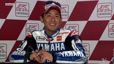 Valencia 2012 - MotoGP - RACE - Interview - Katsuyuki Nakasuga