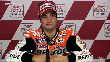 Valencia 2012 - MotoGP - RACE - Interview - Dani Pedrosa