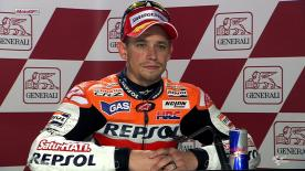 Valencia 2012 - MotoGP - RACE - Interview - Casey Stoner