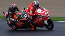 Valencia 2012 - Moto2 - RACE - Action - Marquez and Terol
