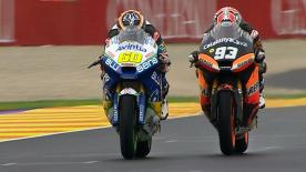 Valencia 2012 - Moto2 - RACE - Action - Race winning overtake