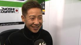 Valencia 2012 - Moto2 - RACE - Interview - Tomoyoshi Koyama