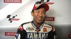 Valencia 2012 - MotoGP - Race - Interview - Katusyuki Nakasuga