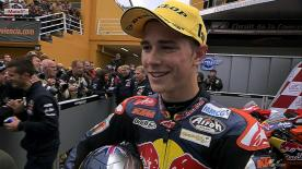 Valencia 2012 - Moto3 - RACE - Interview - Danny Kent