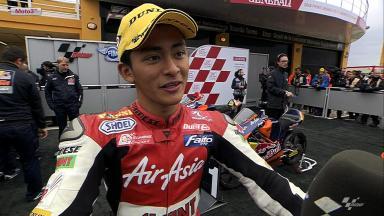 Valencia 2012 - Moto3 - RACE - Interview - Zulfahmi Khairuddin
