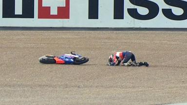 Valencia 2012 - Moto3 - RACE - Action - Jack Miller - Crash