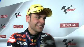 Valencia 2012 - Moto3 - RACE - Interview - Sandro Cortese