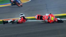 Valencia 2012 - Moto3 - WUP - Action - Luca Amato - Crash