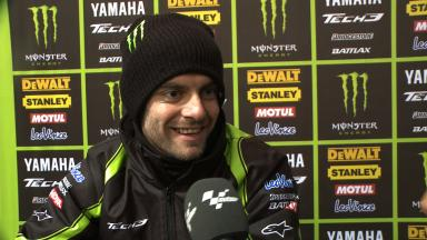 Crutchlow crashes out of second in Valencia