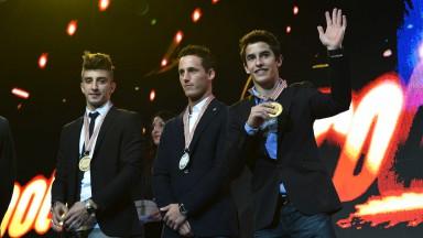 2012 FIM MotoGP Awards, Iannone, Espargaro, Marquez
