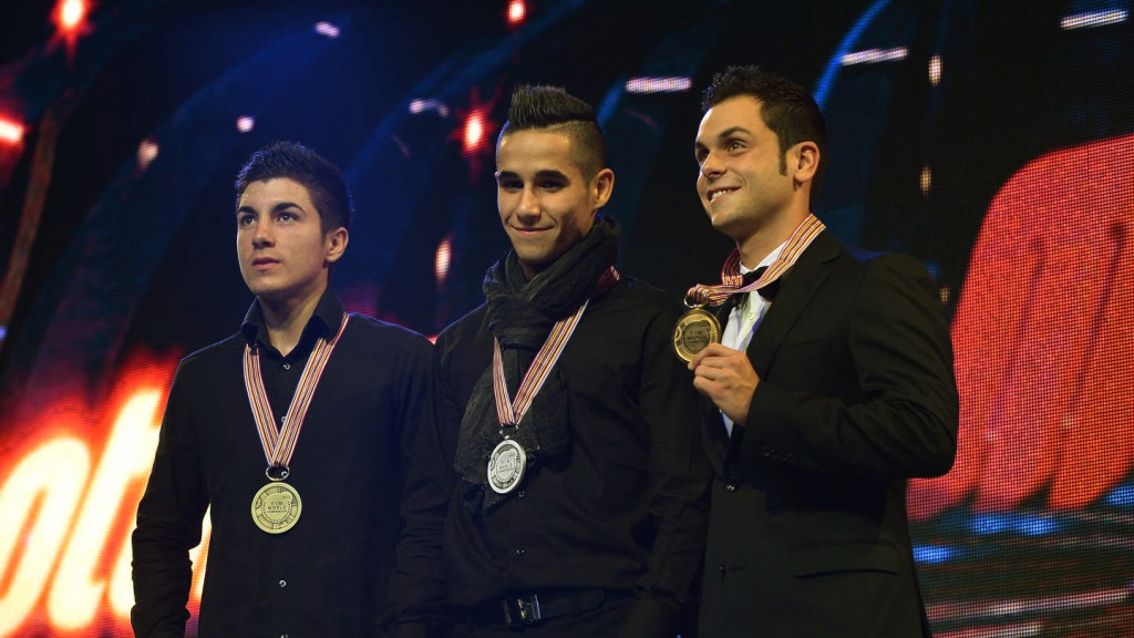 2012 FIM MotoGP Awards, Viñales, Salom, Cortese