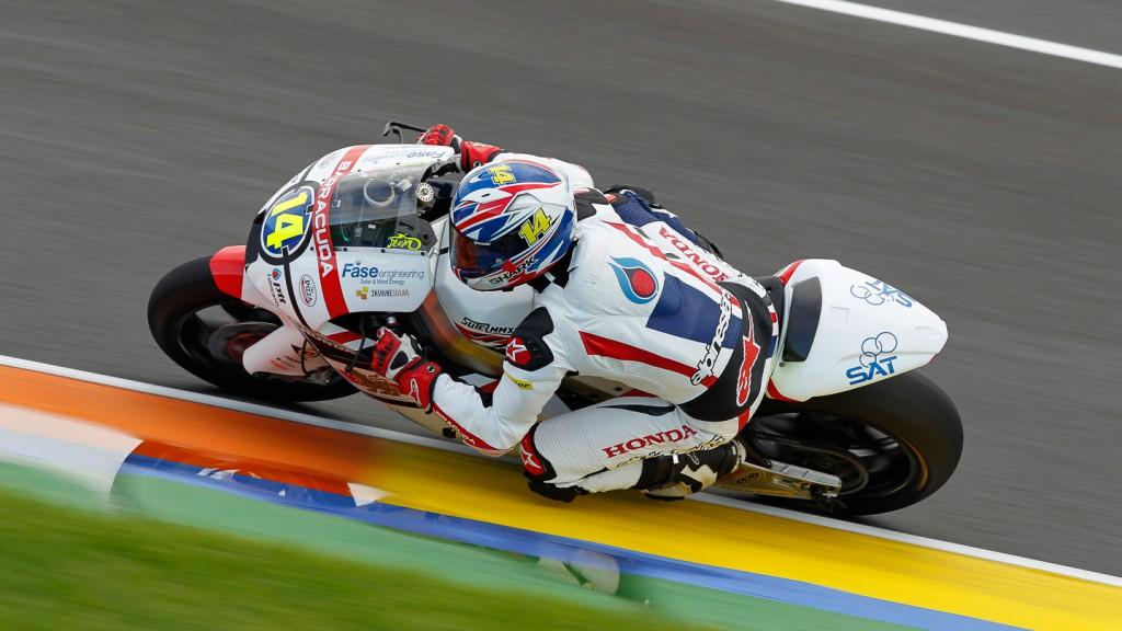 Ratthapark Wilairot, Thai Honda PTT Gresini Moto2, Moto2 Test Valencia