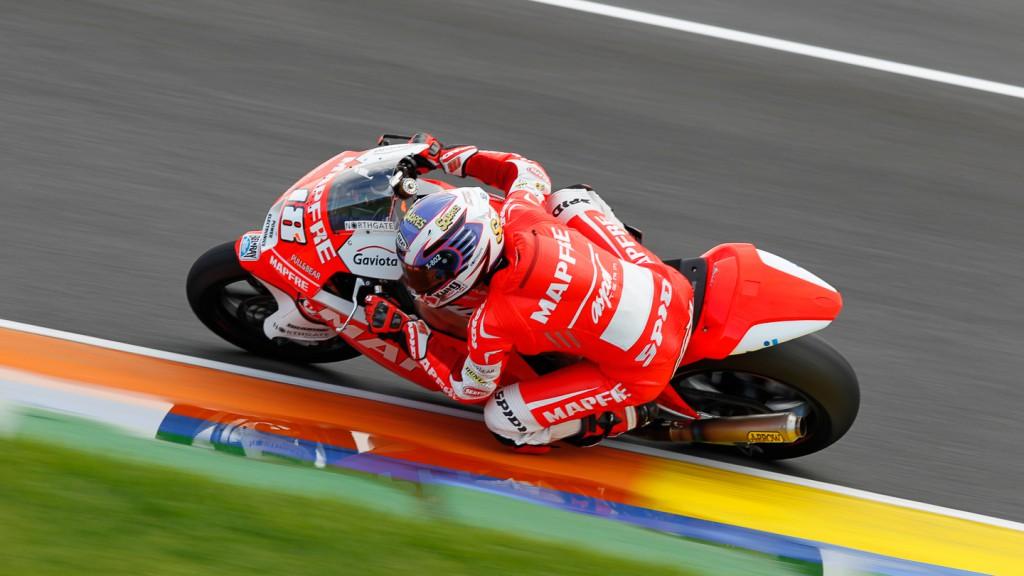 Nico Terol, Mapfre Aspar Team Moto2, Test Moto2 Valencia