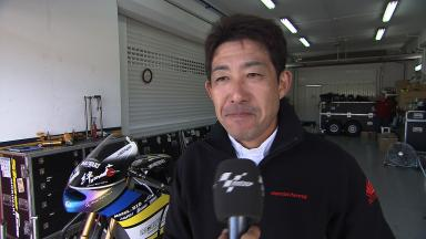Okada on Honda Asia Team Tady prospects