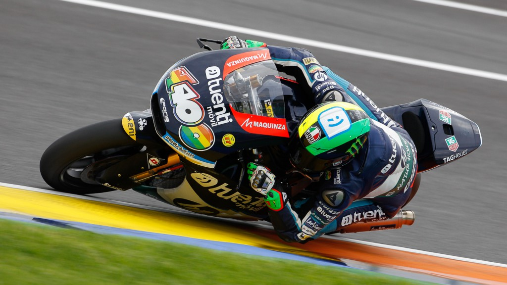 Pol Espargaro, Tuenti Movil HP 40, Moto2 Test Valencia