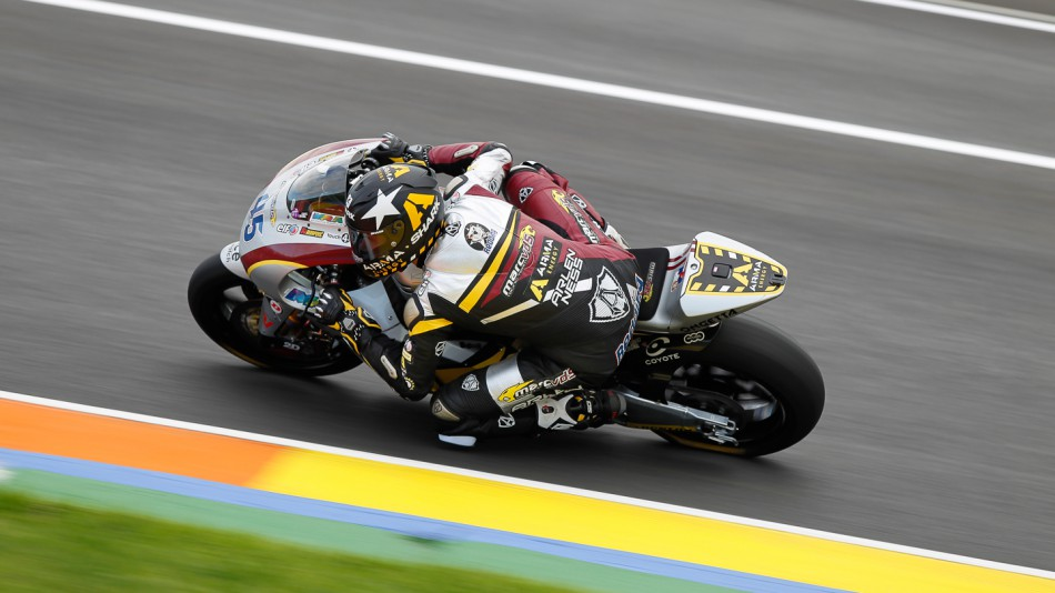 Scott Redding, Marc VDS Racing Team, Moto2 Test Valencia