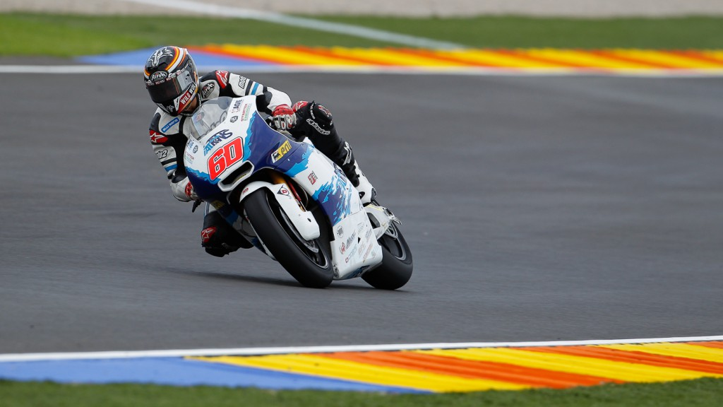 Julian Simon, Italtrans Racing Team, Moto2 Test Valencia