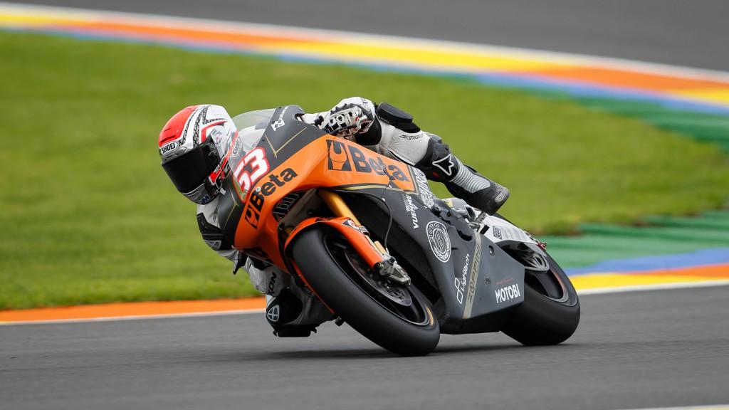 Mike di Meglio, JiR Moto2, Moto2 Valencia Test