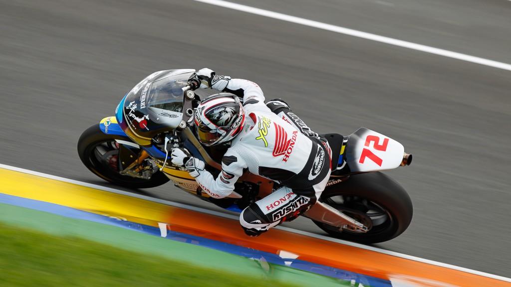 Yuki Takahashi, Team Asia, Moto2 Test Valencia
