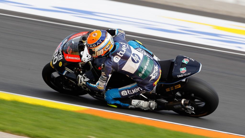 Esteve Rabat, Pons 40 HP Tuenti, Moto2 Valencia Test