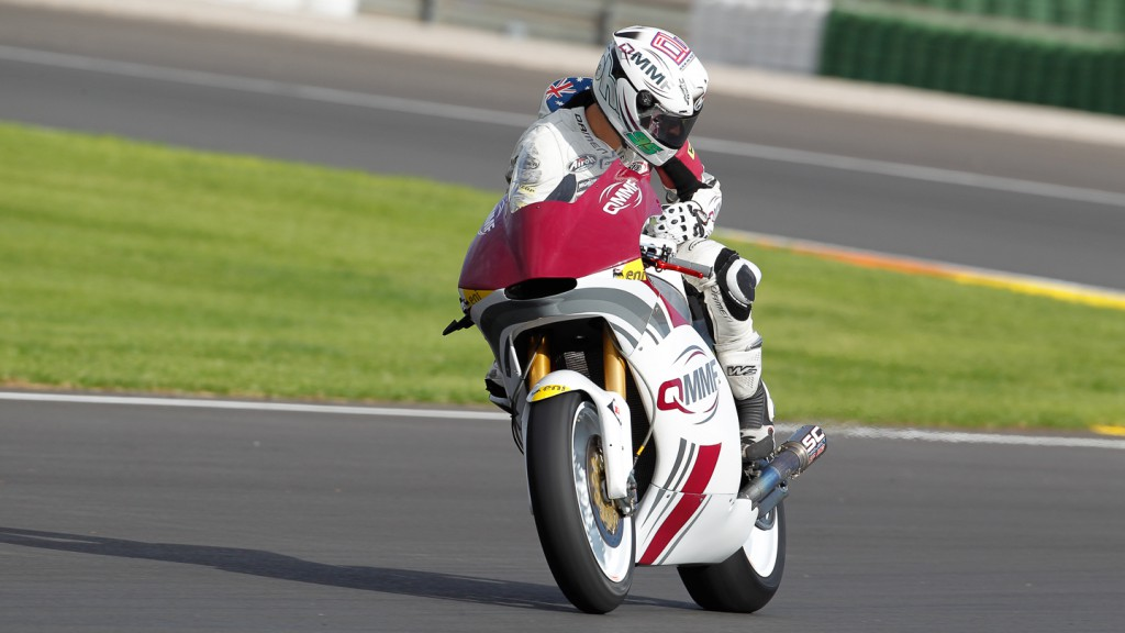 Anthony West, QMMF Racing Team, Moto2 Valencia Test