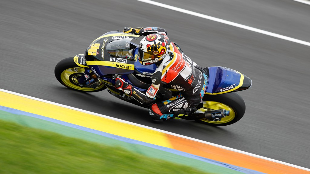 Louis Rossi, Tech 3 Racing, Moto2 Valencia Test