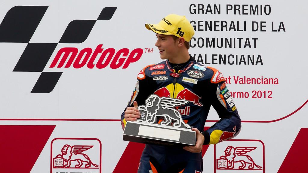 Danny Kent, Red Bull KTM Ajo, Valencia RAC
