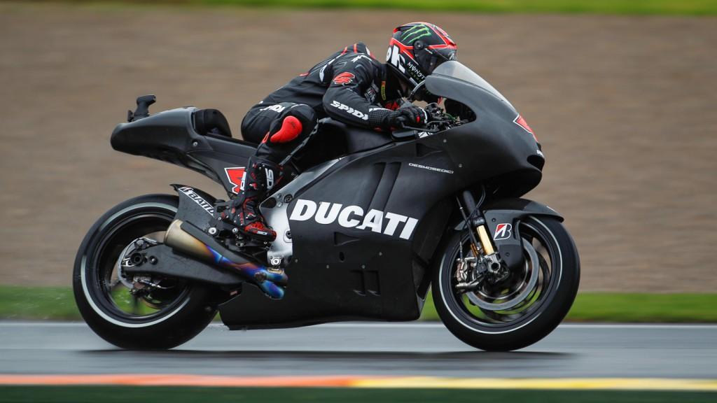 Andrea Dovizioso, Ducati Team, MotoGP Valencia Test