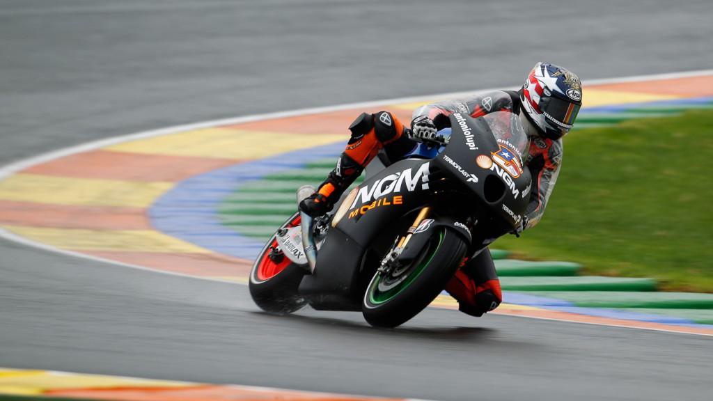 Colin Edwards, NGM Mobile Forward Racing, MotoGP Valencia Test