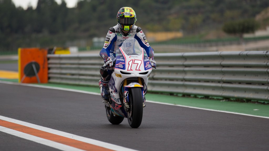 Karel Abraham, Cardion AB Motoracing, MotoGP Valencia Test