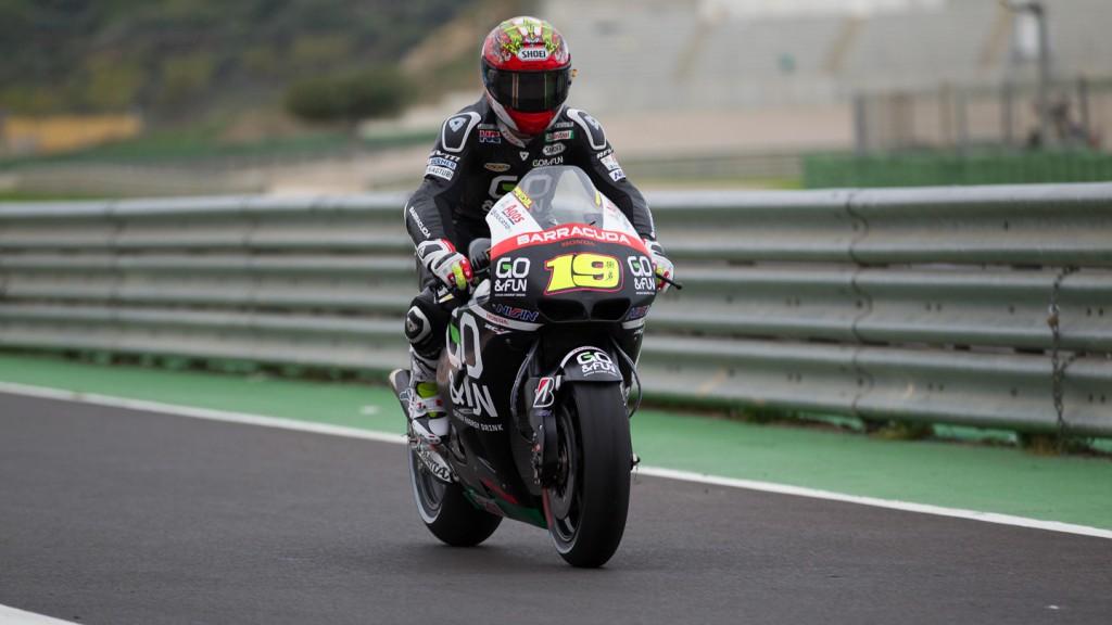 Alvaro Bautista, Team Go & Fun Honda Gresini, MotoGP Valencia Test