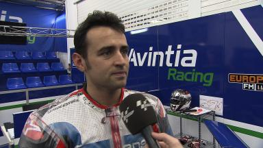 Barberá content with first day at Avintia