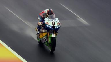 Hector Barbera maiden run on the Avintia Blusens CRT