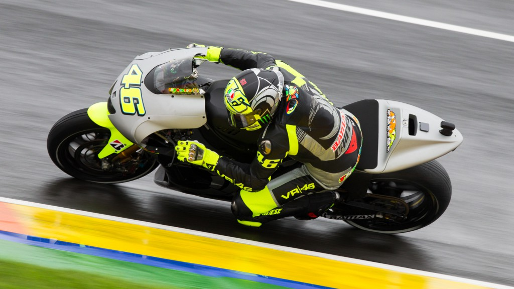Valentino Rossi, Yamaha Factory Racing, MotoGP Valencia Test