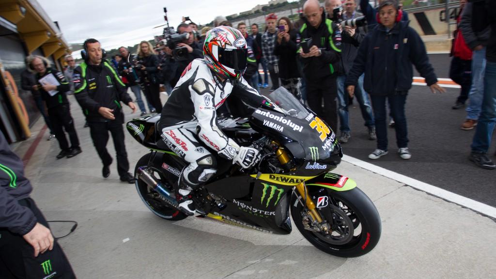 Loris Capirossi, MotoGP Valencia Test