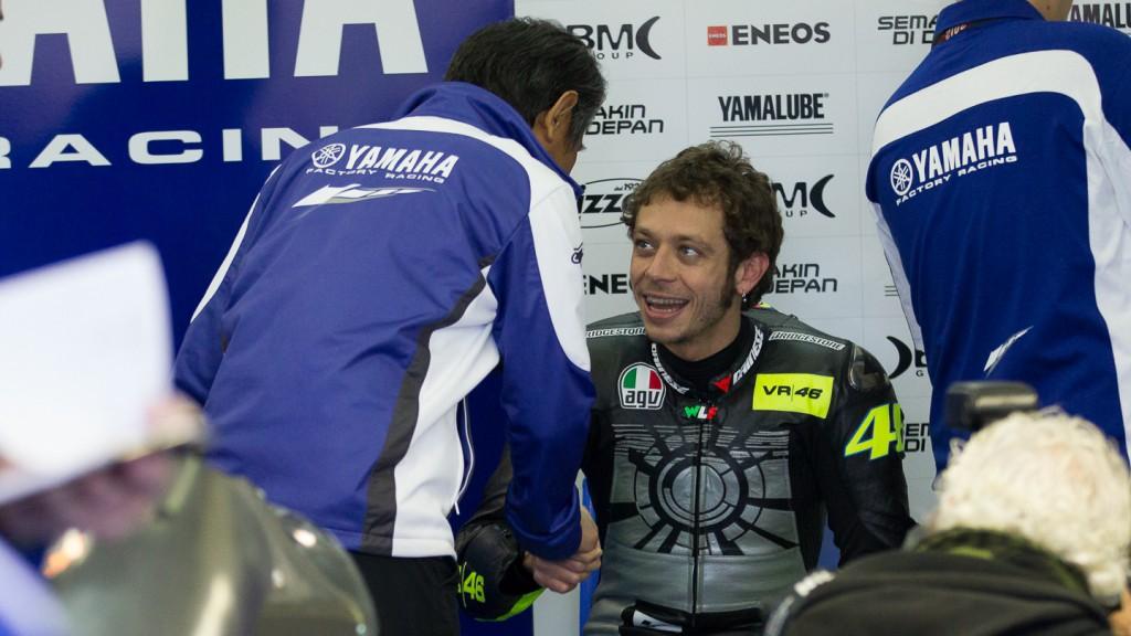 Valentino Rossi, Yamaha Factory Racing, Valencia Test