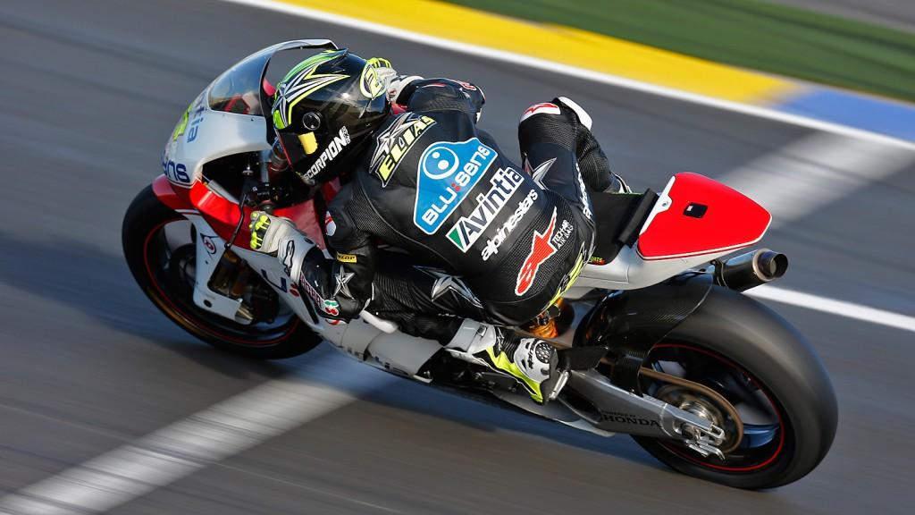 Toni Elias, Blusens Avintia, Moto2 Valencia Test