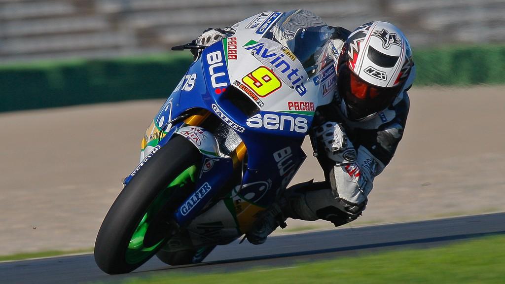Kyle Smith, Blusens Avintia, Moto2 Valencia Test