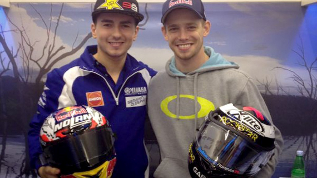 Jorge Lorenzo, Casey Stoner, MotoGP Valencia Test
