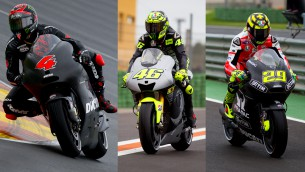 MotoGP test day1 valencia