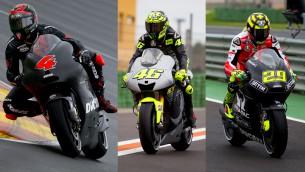 MotoGP test day1 valencia