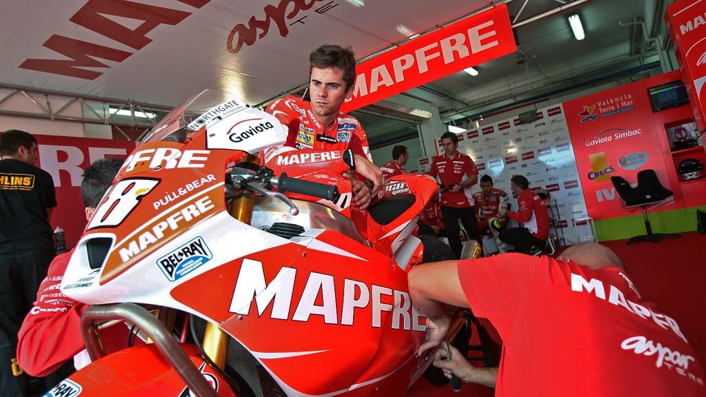 Nico Terol, Mapfre Aspar Team Moto2, Moto2 Valencia Test